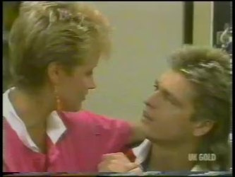 Daphne Clarke, Shane Ramsay in Neighbours Episode 0229
