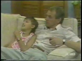 Lucy Robinson, Jim Robinson in Neighbours Episode 0230