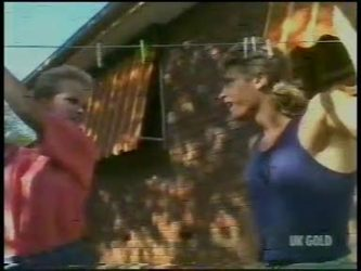 Daphne Lawrence, Shane Ramsay in Neighbours Episode 0232