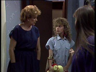 Madge Bishop, Charlene Mitchell, Nikki Dennison in Neighbours Episode 0237