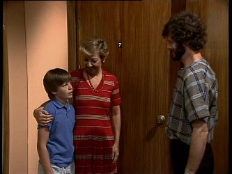 Bradley Townsend, Eileen Clarke, Gavin McKinley in Neighbours Episode 0245