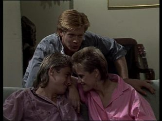 Shane Ramsay, Clive Gibbons, Daphne Clarke in Neighbours Episode 0248
