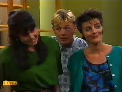 Poppy Skouros, Scott Robinson, Gail Robinson in Neighbours Episode 0937