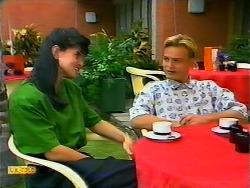 Poppy Skouros, Scott Robinson in Neighbours Episode 0937