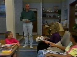 Katie Landers, Jim Robinson, Beverly Marshall, Todd Landers in Neighbours Episode 0938