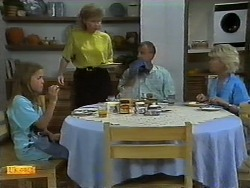 Katie Landers, Beverly Robinson, Jim Robinson, Helen Daniels in Neighbours Episode 0939