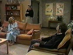 Madge Bishop, Bronwyn Davies, Harold Bishop in Neighbours Episode 1021