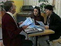 Harold Bishop, Kerry Bishop, Joe Mangel in Neighbours Episode 1021
