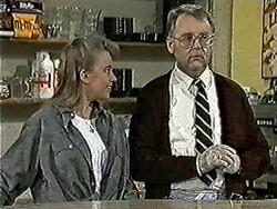 Bronwyn Davies, Harold Bishop in Neighbours Episode 1021