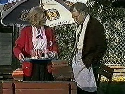 Madge Bishop, Harold Bishop in Neighbours Episode 1021
