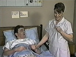 Des Clarke, Nurse in Neighbours Episode 1022