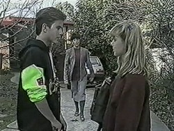 Todd Landers, Hilary Robinson, Melissa Jarrett in Neighbours Episode 1022