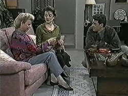 Helen Daniels, Gail Robinson, Paul Robinson in Neighbours Episode 1022