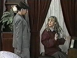 Hilary Robinson, Melissa Jarrett in Neighbours Episode 1022