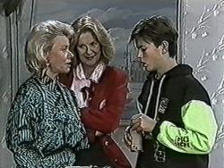 Helen Daniels, Madge Bishop, Todd Landers in Neighbours Episode 1022