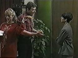 Jane Harris, Des Clarke, Hilary Robinson in Neighbours Episode 1022