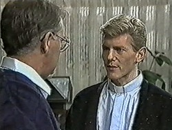 Harold Bishop, Reverend Richards in Neighbours Episode 1023