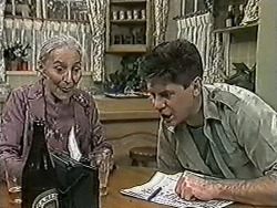 Mary Crombie, Joe Mangel in Neighbours Episode 1023