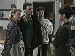Helen Daniels, Paul Robinson, Gail Robinson, Hilary Robinson in Neighbours Episode 1025