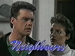 Paul Robinson, Gail Robinson in Neighbours Episode 1025