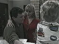 Des Clarke, Jane Harris, Jamie Clarke in Neighbours Episode 1027