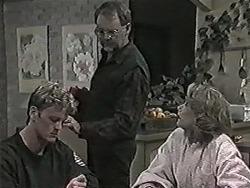 Henry Ramsay, Harold Bishop, Madge Bishop in Neighbours Episode 1027