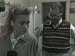 Bronwyn Davies, Harold Bishop in Neighbours Episode 1027