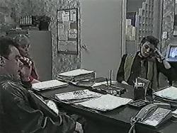 Paul Robinson, Jane Harris, Gail Robinson in Neighbours Episode 1028