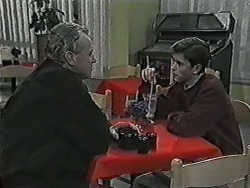 Jim Robinson, Todd Landers in Neighbours Episode 1028