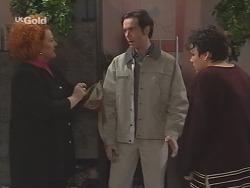 Cheryl Stark, Ross Butman, Janine Stark in Neighbours Episode 2461