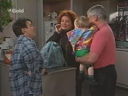 Janine Stark, Cheryl Stark, Louise Carpenter (Lolly), Lou Carpenter in Neighbours Episode 2461