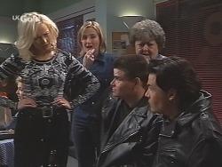 Annalise Hartman, Jen Handley, Marlene Kratz, Sam Kratz in Neighbours Episode 2461