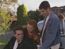 Mark Gottlieb, Ren Gottlieb, Luke Handley in Neighbours Episode 2462