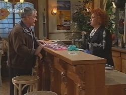 Lou Carpenter, Cheryl Stark in Neighbours Episode 2462