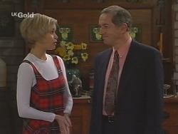 Joanna Hartman, Roger Reynolds in Neighbours Episode 2462