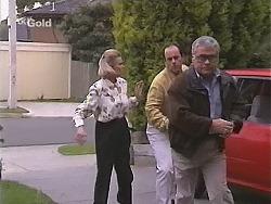Helen Daniels, Philip Martin, Lou Carpenter in Neighbours Episode 2463