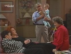 Janine Stark, Cheryl Stark, Lou Carpenter, Louise Carpenter (Lolly), Marlene Kratz in Neighbours Episode 2463