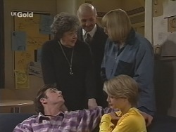 Malcolm Kennedy, Marlene Kratz, Colin Taylor, Angie Rebecchi, Danni Stark in Neighbours Episode 2464