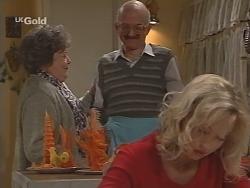 Marlene Kratz, Colin Taylor, Annalise Hartman in Neighbours Episode 2464