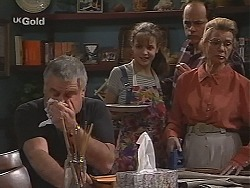 Lou Carpenter, Hannah Martin, Philip Martin, Helen Daniels in Neighbours Episode 2465