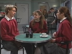 Billy Kennedy, Hannah Martin, Melissa Drenth in Neighbours Episode 2465