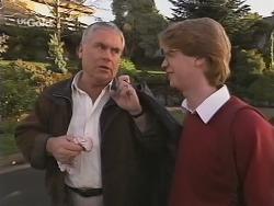 Lou Carpenter, Brett Stark in Neighbours Episode 2465