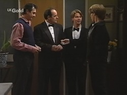 Karl Kennedy, Philip Martin, Brett Stark, Billy Kennedy in Neighbours Episode 2465