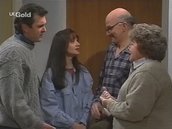 Karl Kennedy, Susan Kennedy, Alf Taylor, Marlene Kratz in Neighbours Episode 2486