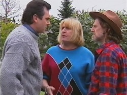 Karl Kennedy, Angie Rebecchi, Kevin Rebecchi in Neighbours Episode 2486