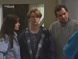 Susan Kennedy, Billy Kennedy, Karl Kennedy in Neighbours Episode 2486