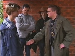 Billy Kennedy, Karl Kennedy, Kevin Rebecchi, Toadie Rebecchi in Neighbours Episode 2486
