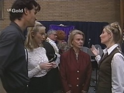 Sam Kratz, Annalise Hartman, Lou Carpenter, Cheryl Stark, Helen Daniels, Jen Handley in Neighbours Episode 2486