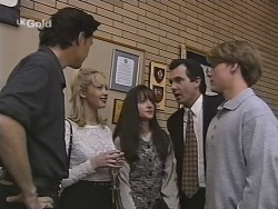 Sam Kratz, Annalise Hartman, Susan Kennedy, Karl Kennedy, Billy Kennedy in Neighbours Episode 2486