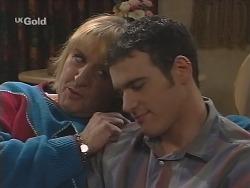 Angie Rebecchi, Stonie Rebecchi in Neighbours Episode 2486